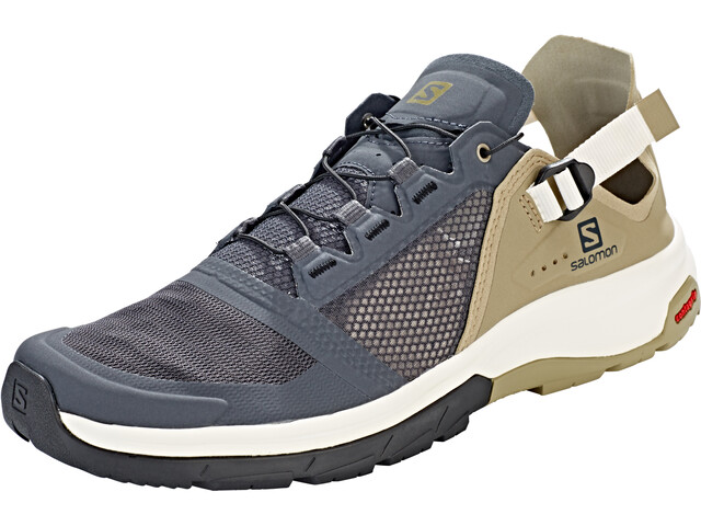 d5cd14cd1d Salomon Techamphibian 4 Shoes Men ebony/mermaid/vanilla ice at ...